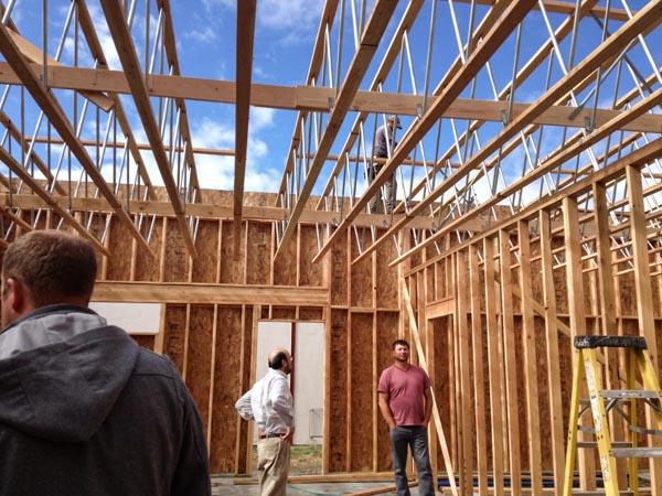 Walla Walla food bank construction