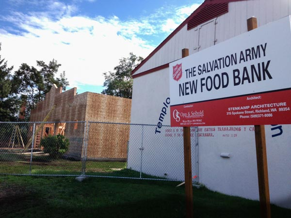 New construction of state of the art food bank