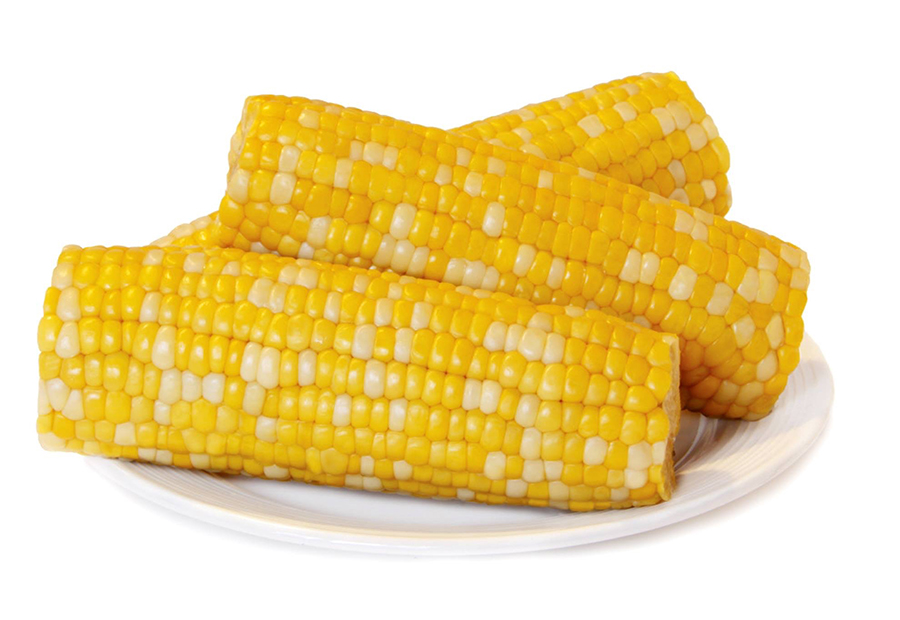 Corn on plate for blog